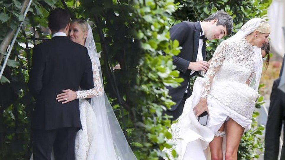H Nicky Hilton, o «βασιλικός» γάμος και το εσώρουχό της