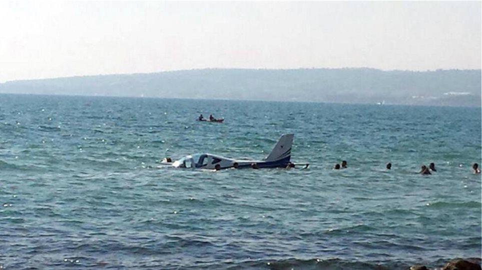 Ηλεία: Έπεσε μικρό αεροπλάνο, σώος ο κυβερνήτης