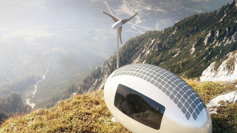 Φωτογραφίες: Το σπίτι «αυγό» είναι ενεργειακά αυτόνομο και μπορεί να τοποθετηθεί παντού