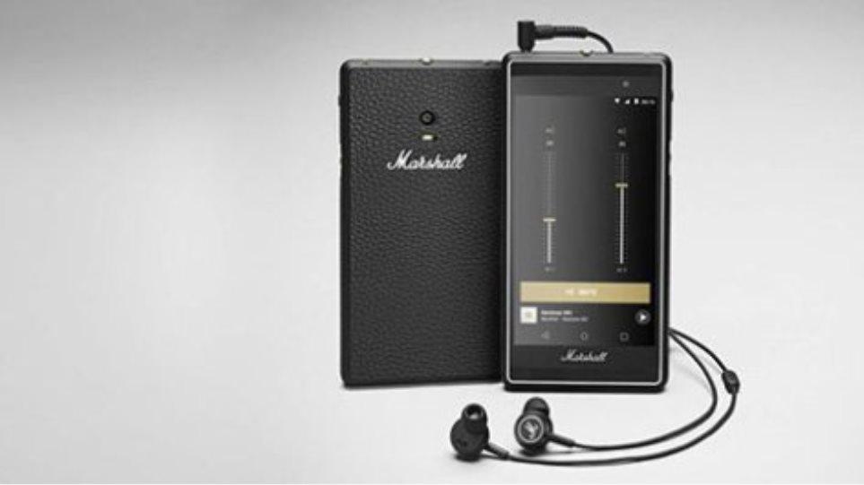 Marshall London: Το smartphone-έκπληξη με design ενισχυτή κιθάρας και έμφαση στη μουσική