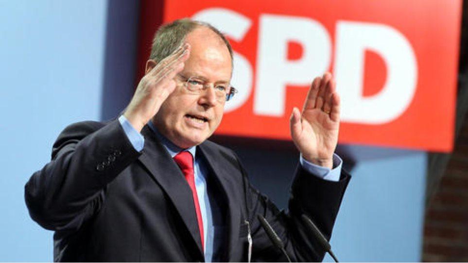 Bundestag: «Όχι» στο τρίτο Μνημόνιο για την Ελλάδα θα ψηφίσει ο Πέερ Στάινμπρουκ
