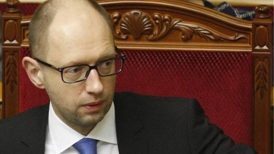 Ουκρανός πρωθυπουργός: Εμείς δεν εκβιάζουμε κανέναν όπως οι Έλληνες