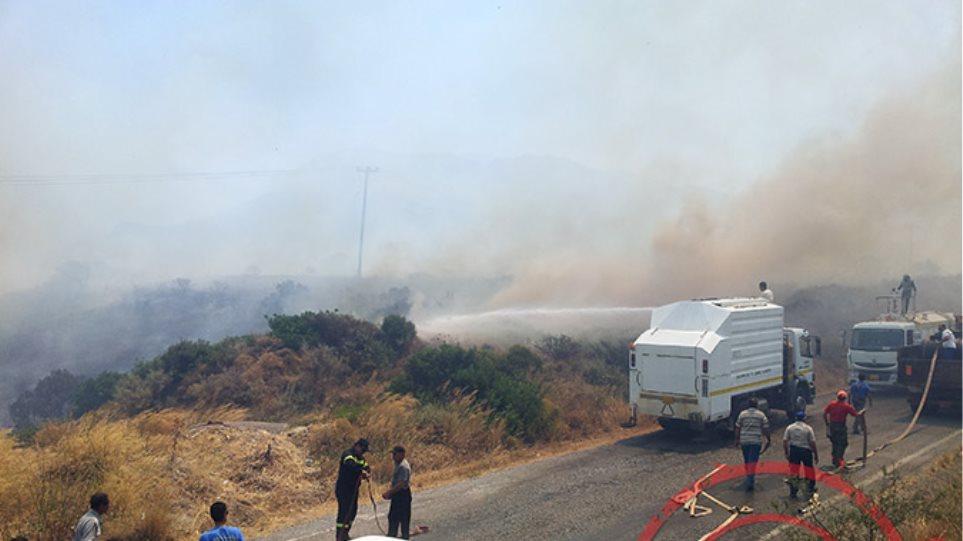 Νεκρός 58χρονος στην πυρκαγιά της Λακωνίας