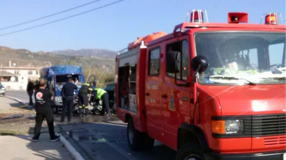 Αίμα στην άσφαλτο της Κρήτης: Νεκρό αντρόγυνο σε τροχαίο