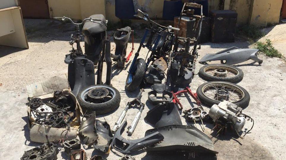 Ρόδος: Ανήλικοι έκλεβαν δίκυκλα και πωλούσαν τα εξαρτήματα