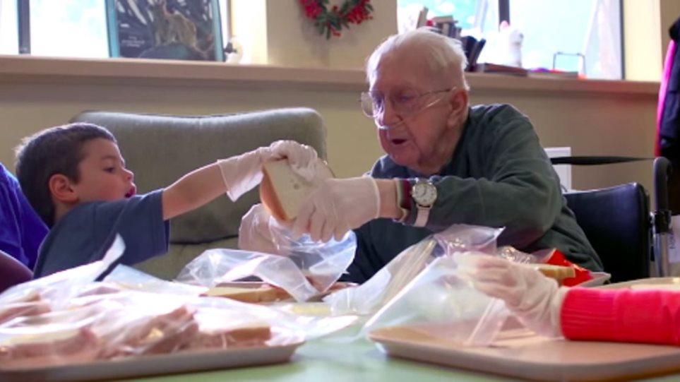 Βίντεο: Στις ΗΠΑ ένωσαν γηροκομείο με νηπιαγωγείο και το αποτέλεσμα συγκινεί!
