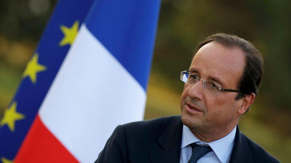 Ενιαία διακυβέρνηση της Ευρωζώνης με τη Γαλλία στην πρώτη γραμμή ζητά ο Ολάντ