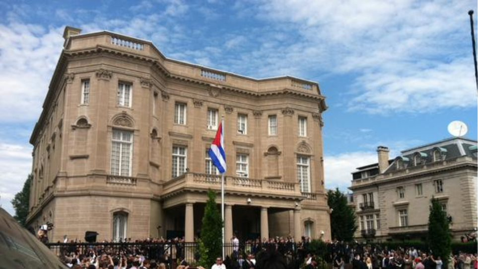 Άνοιξε η πρεσβεία της Κούβας στην Ουάσινγκτον έπειτα από 54 χρόνια