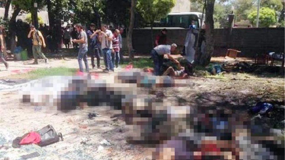 Τουρκία: Είκοσι επτά  νεκροί από έκρηξη κοντά στα σύνορα με τη Συρία
