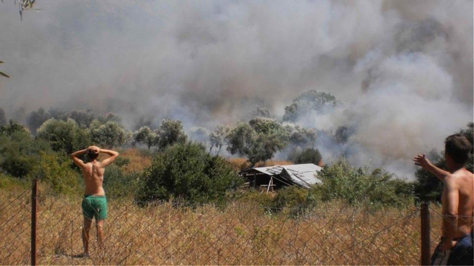 Σειρά μέτρων για την ανακούφιση των πυρόπληκτων στη Νεάπολη Λακωνίας