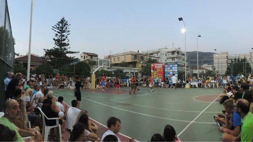 """Τουρνουά μπάσκετ """"3 on 3"""" στην Ιτέα"""