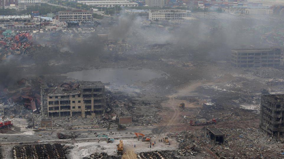 Κίνα: Στους 85 νεκρούς ο τραγικός απολογισμός των εκρήξεων της Τιαντζίν