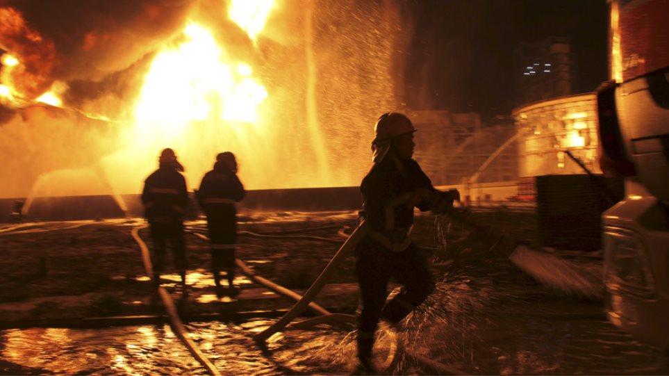 Κίνα: Έκρηξη σε εργοστάσιο χημικών στην επαρχία Σαντόνγκ