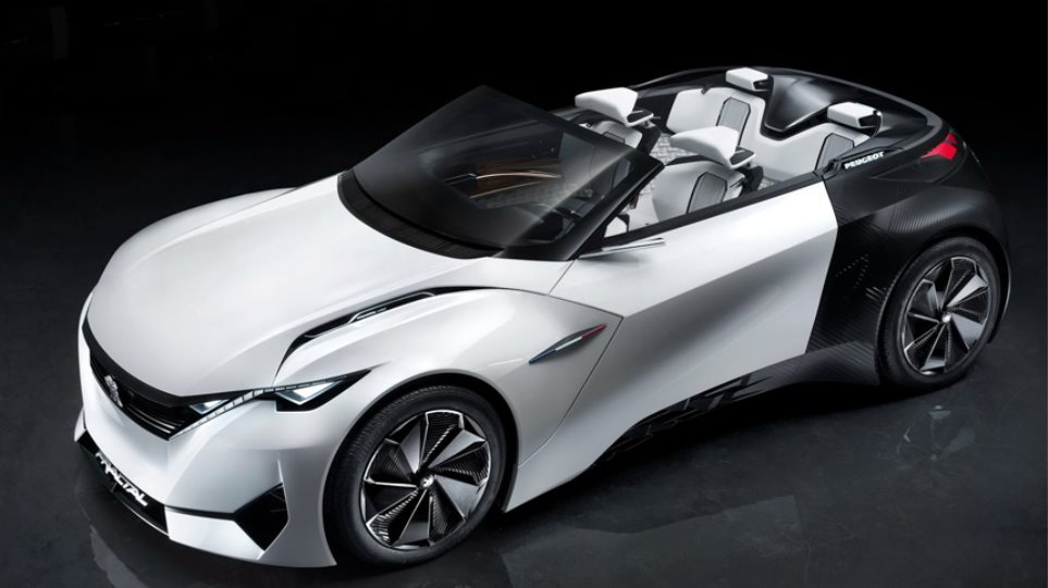 Το ηλεκτρικό coupe-cabrio της Peugeot