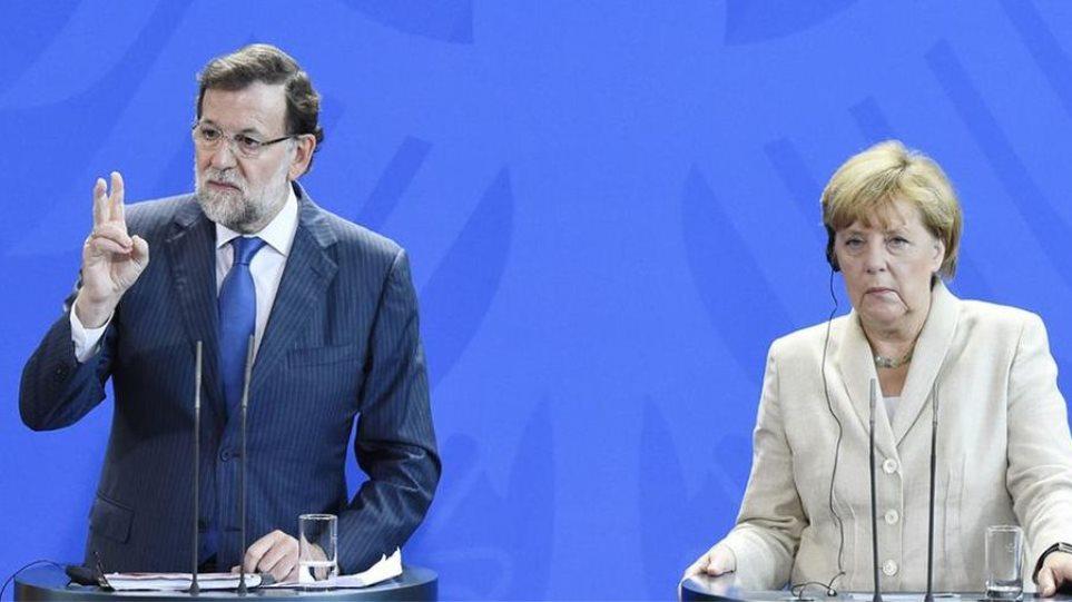 Μέρκελ: «Παράδειγμα προς μίμηση για την Ελλάδα η ανάκαμψη της Ισπανίας»