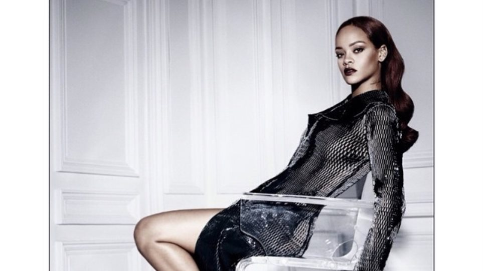 Rihanna: Με see-through στη νέα καμπάνια του Dior