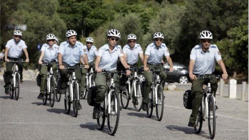 Αστυνομικοί με ποδήλατα και στην Ελλάδα