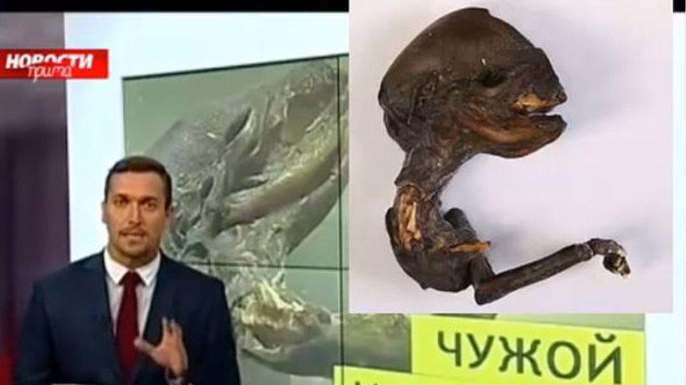 Ρωσία: Βρήκαν πτώμα «εξωγήινου» στις ακτές ποταμού;