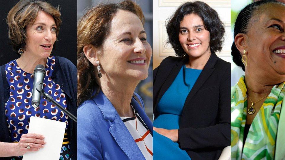 Γαλλία: Για πρώτη φορά οι γυναίκες υπουργοί υπερτερούν αριθμητικά των ανδρών