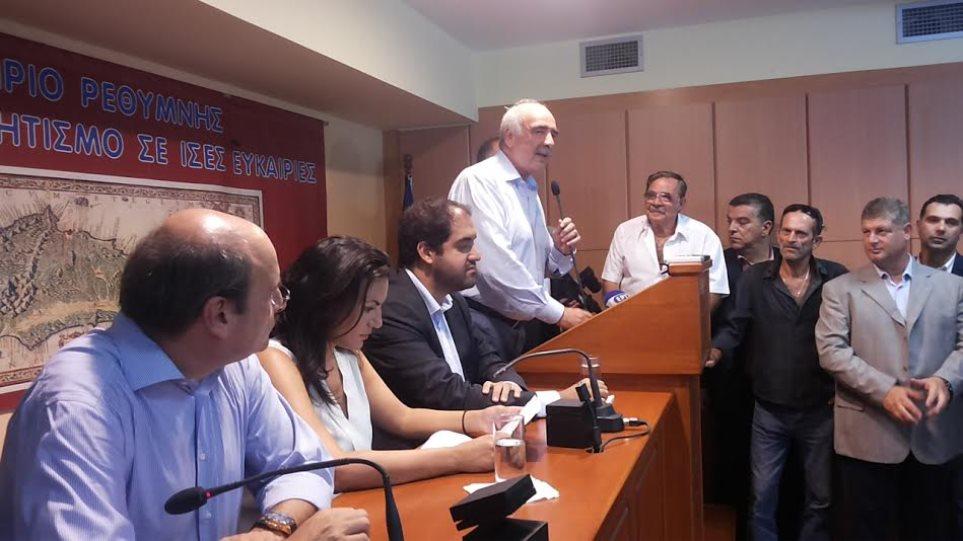 Μεϊμαράκης: Η ΝΔ θα είναι ο κορμός της αυριανής κυβέρνησης - «Όχι» στην ψήφο διαμαρτυρίας