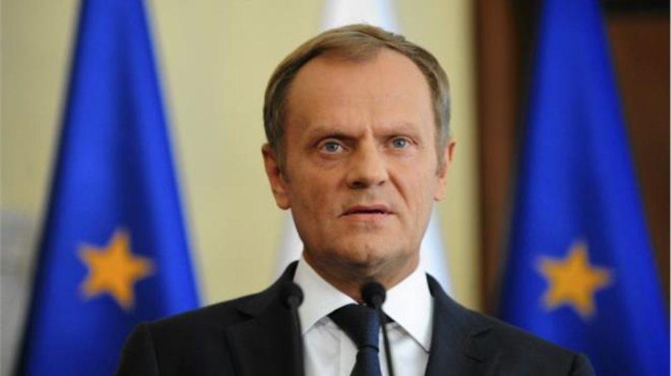 Προειδοποίηση Τουσκ για κίνδυνο «χωρισμού της ΕΕ σε ανατολή και δύση»