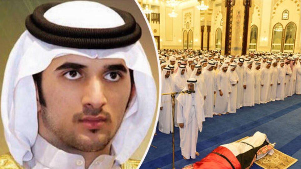 Τριήμερο πένθος στο Ντουμπάι για το θάνατο του 33χρονου πρίγκιπα