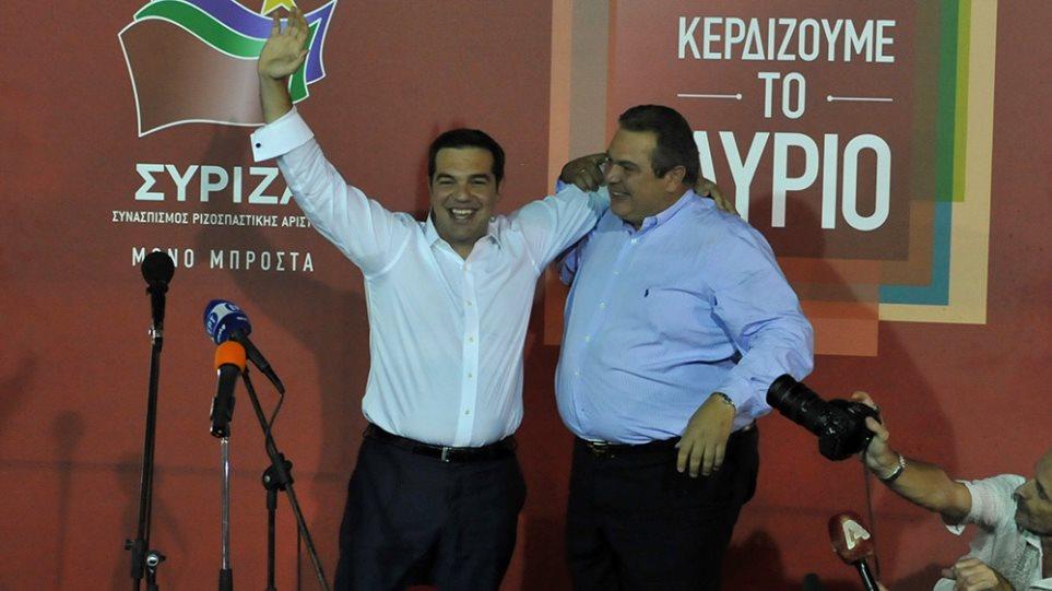Τσίπρας: Με 155 βουλευτές ετοιμάζει τη νέα κυβέρνηση