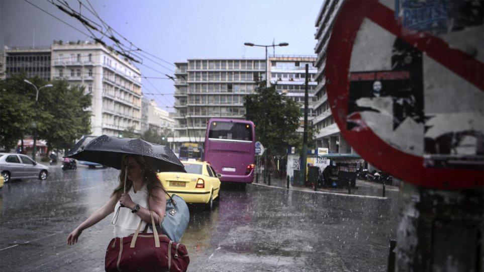 Άστατος ο καιρός όλη την εβδομάδα με βροχές και καταιγίδες