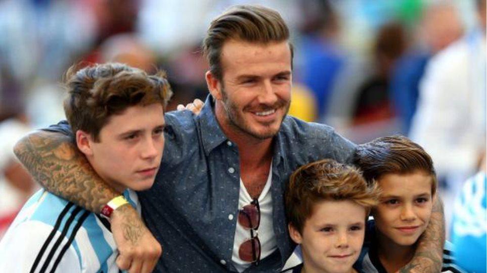 Ντέιβιντ Μπέκαμ: Αποκάλυψε γιατί οι γιοι του δεν θέλουν να γίνουν ποδοσφαιριστές