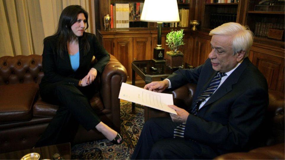 Στον Παυλόπουλο το μεσημέρι η Κωνσταντοπούλου για τη σύνθεση της Βουλής