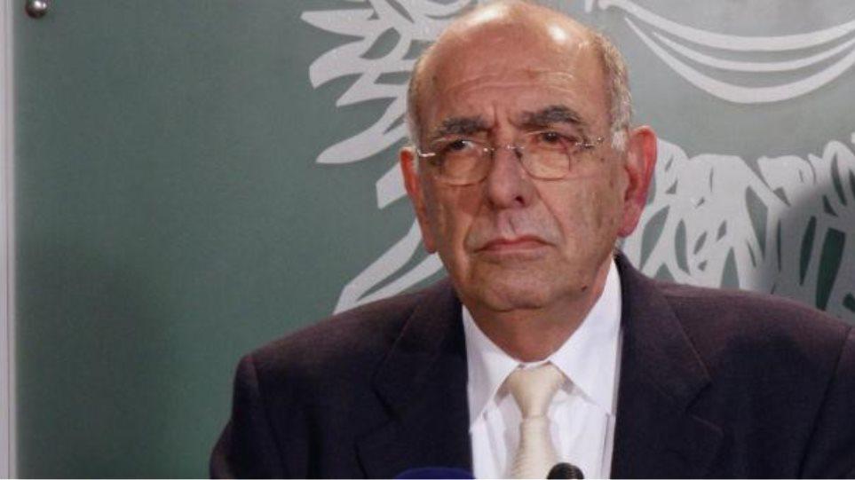 «Έφυγε» ο πρώην υπουργός Άμυνας της Κύπρου