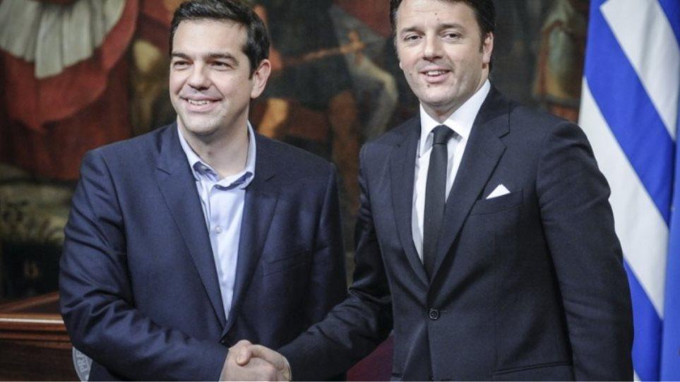 Συγχαρητήρια του Ματέο Ρέντσι στον Αλέξη Τσίπρα