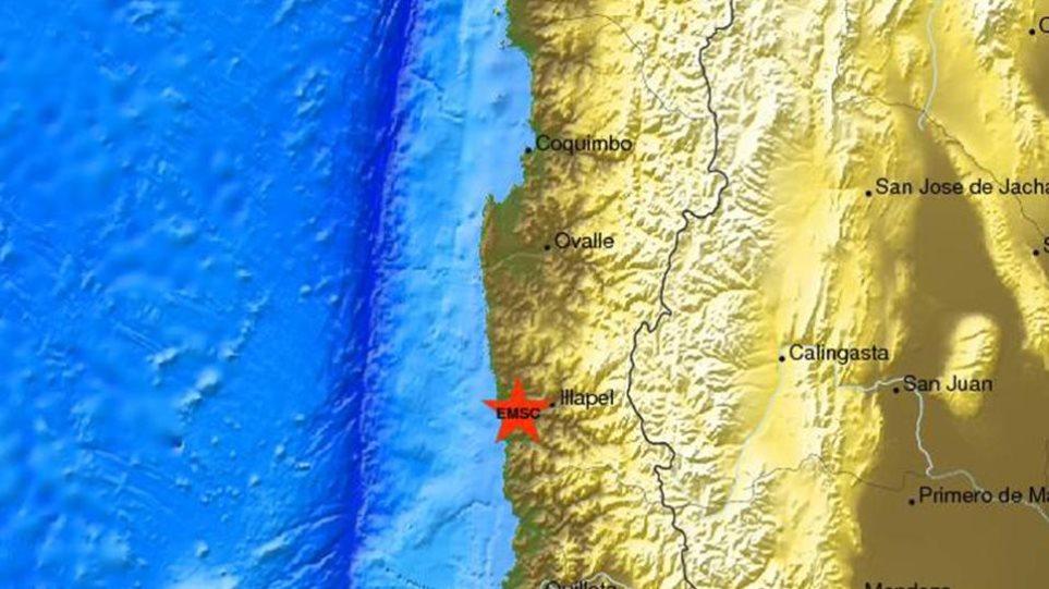 Χιλή: Νέος σεισμός 6,5 Ρίχτερ βορειοδυτικά του Βαλπαραΐσο