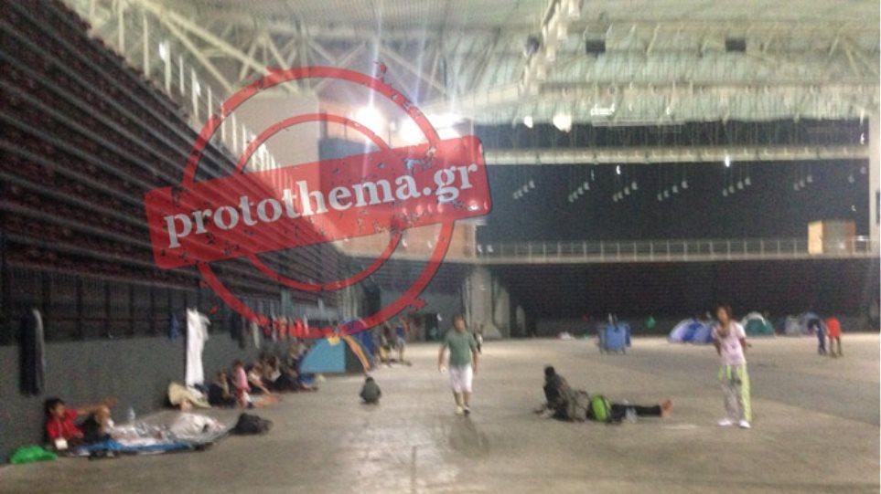 Προσωρινή λύση και με πολλά προβλήματα το κλειστό του Ταε Κβον Ντο για τους μετανάστες