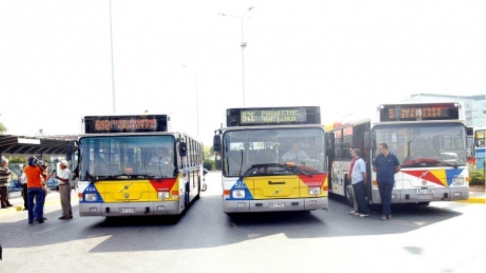 Χωρίς αστικά λεωφορεία αύριο η Θεσσαλονίκη