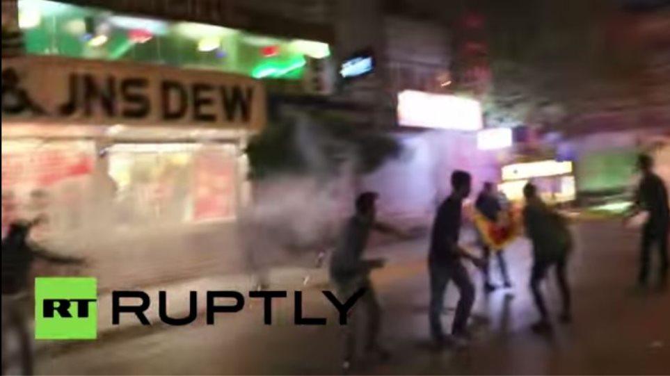 Επεισόδια στην Κωνσταντινούπολη μεταξύ αστυνομίας και διαδηλωτών (video)