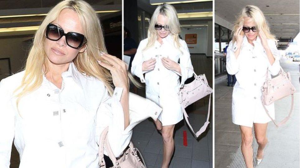 Η Pamela Anderson φτιάχνει vegan παπούτσια για το brand της Amelie Pichard