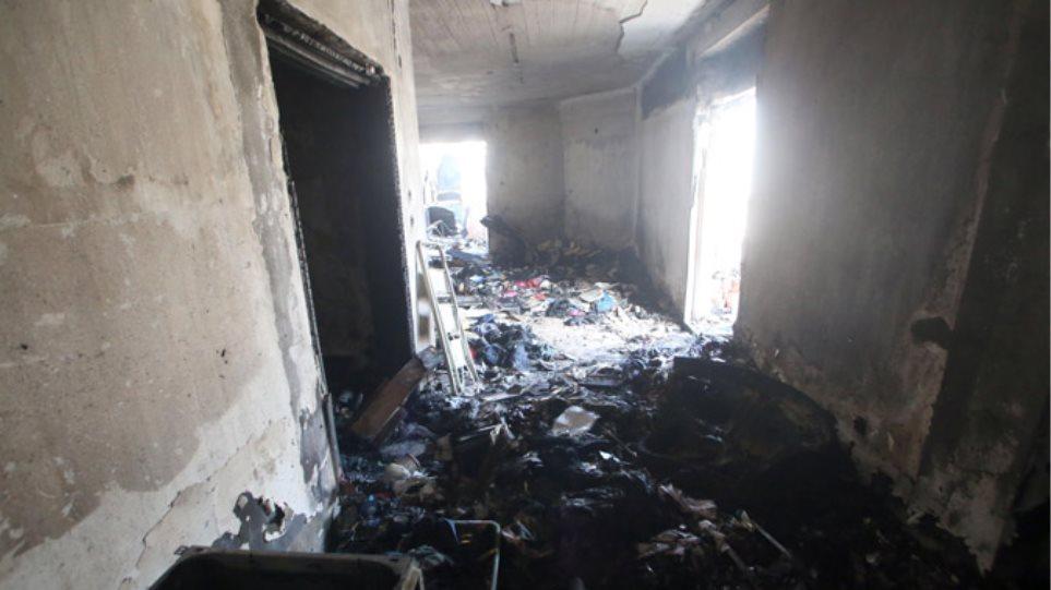 Πυρκαγιά στη Θεσσαλονίκη: Από τύχη γλίτωσε ο 12χρονος γιος του θύματος