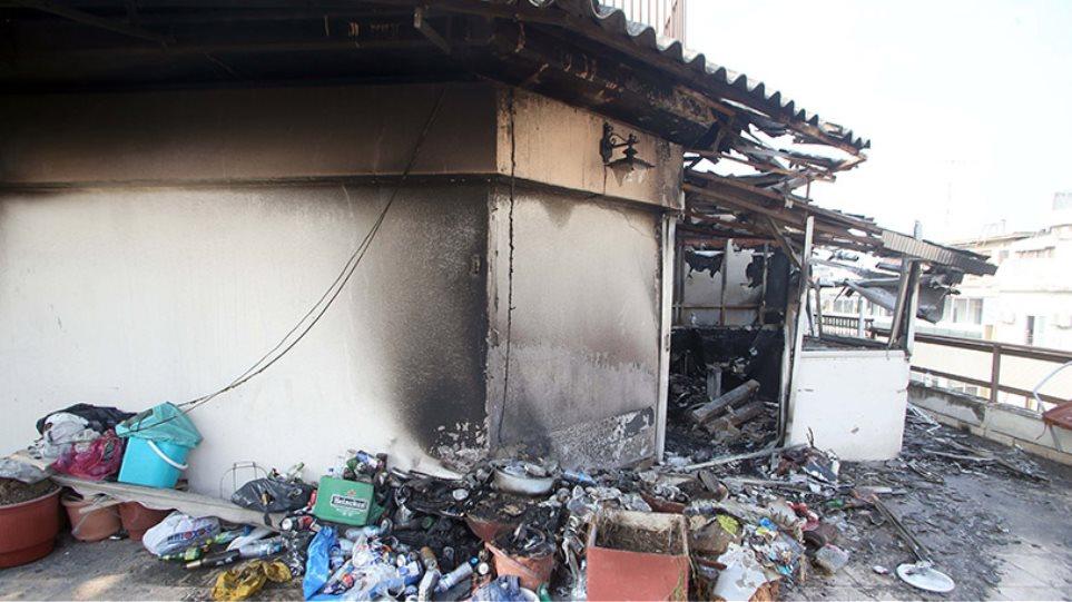 Δύο νεκροί από πυρκαγιά σε διαμέρισμα στο κέντρο της Θεσσαλονίκης