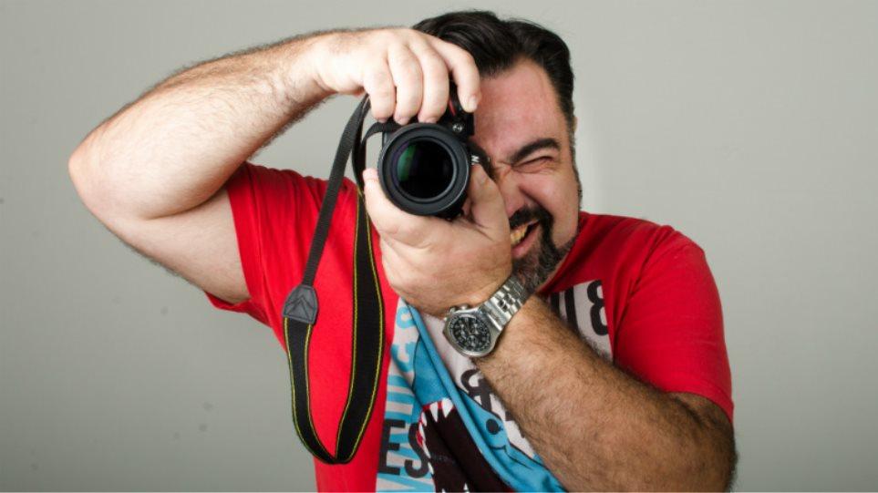 Ένας λάτρης της φωτογραφίας