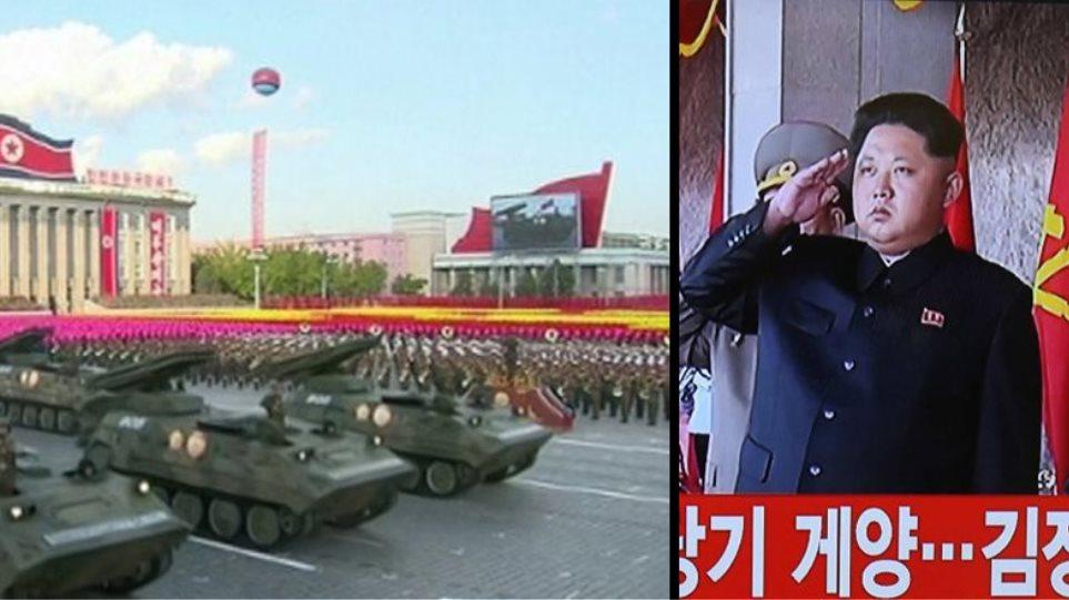 Σόου με όπλα και στη Βόρεια Κορέα