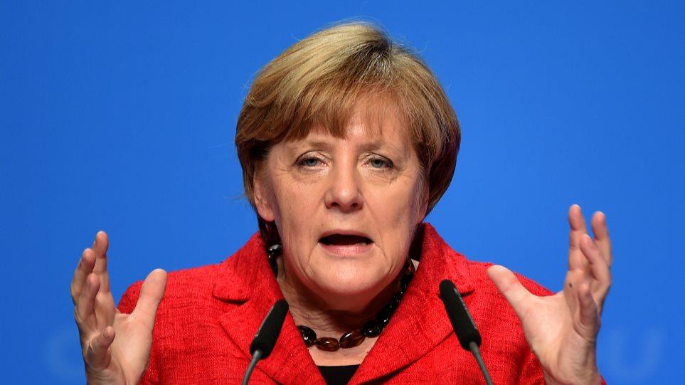 Απέκλεισε την επιβολή «φόρου αλληλεγγύης» για τους πρόσφυγες η Μέρκελ