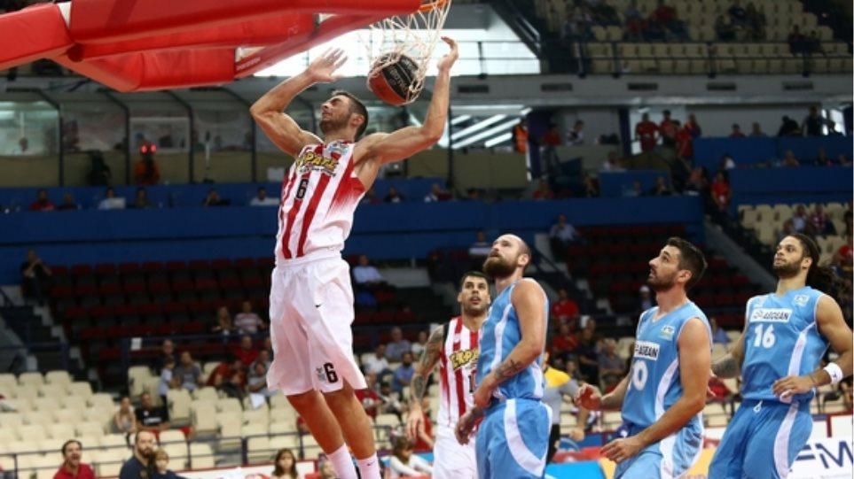 Α1: Με 88-62 «ξέσπασε» στον Κολοσσό ο Ολυμπιακός