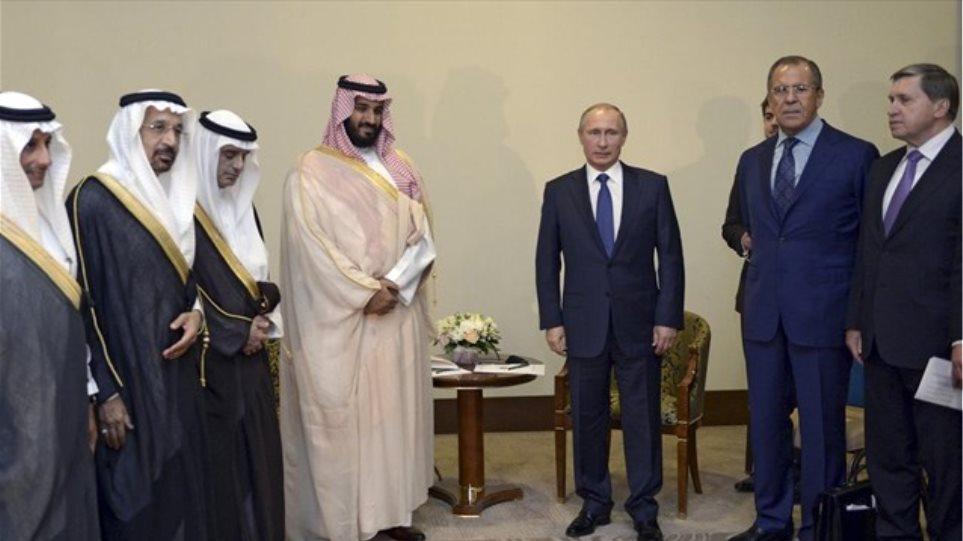 Ρωσία: Συνάντηση Πούτιν με τον Σαουδάραβα υπουργό Άμυνας