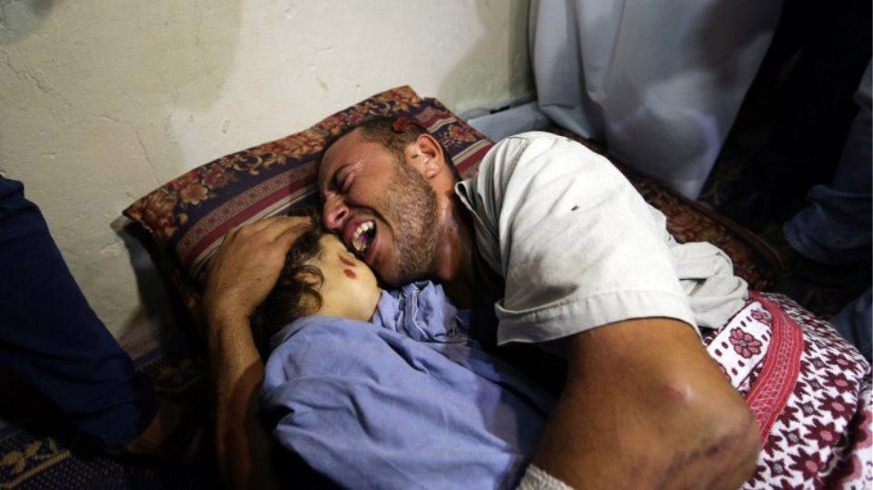 Μία Παλαιστίνια έγκυος και η κόρη της νεκρές σε επίθεση στη Λωρίδα της Γάζας