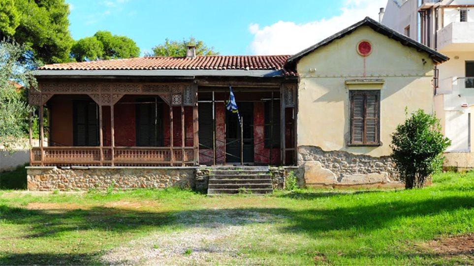 Καταρρέει ξεχασμένο το σπίτι του Παύλου Μελά στην Κηφισιά