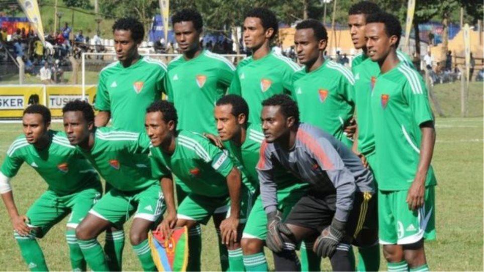 Δέκα διεθνείς ποδοσφαιριστές της Ερυθραίας ζήτησαν άσυλο στην Μποτσουάνα!