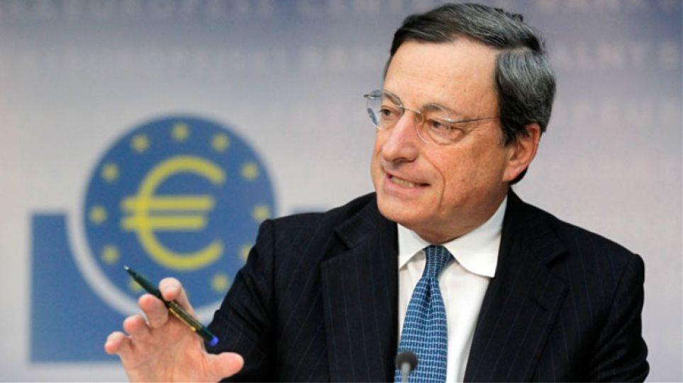 Ντράγκι: Να δοθούν 15 δισ. για τις ελληνικές τράπεζες πριν την πρώτη αξιολόγηση