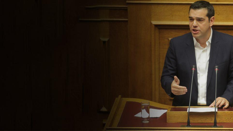 Ο Τσίπρας καλύπτει Φλαμπουράρη-Σταθάκη: «Στο σπίτι του κρεμασμένου δεν μιλάνε για σκοινί»