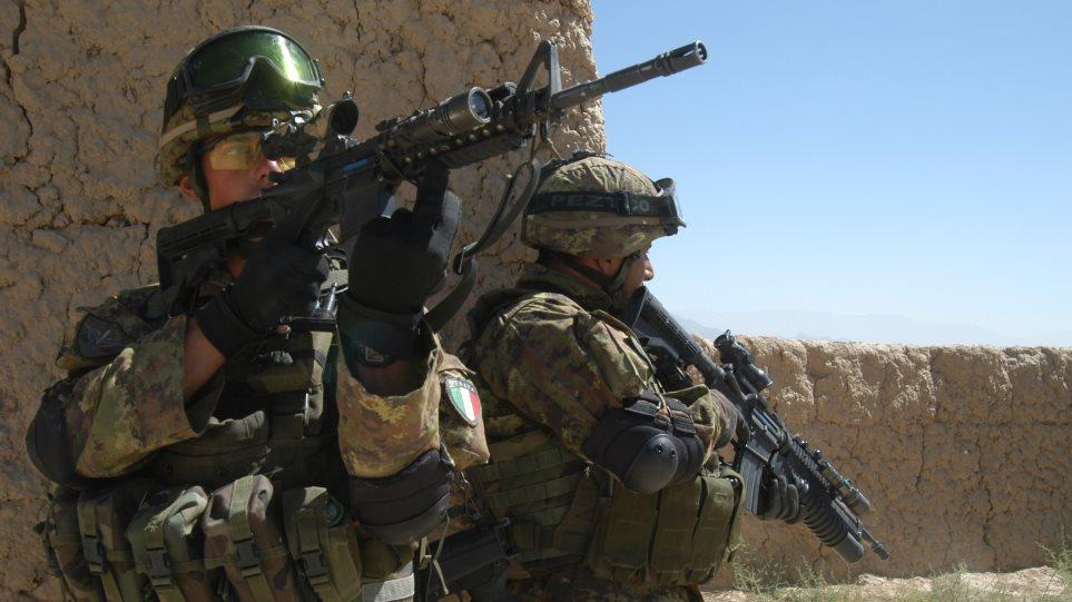 Ιταλία: Ενδεχόμενο παράτασης της διάρκειας των στρατιωτικών στρατευμάτων στο Αφγανιστάν